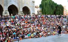 'Pequegrande' vuelve a la plaza de Atarazanas durante la Semana Grande de Santander