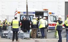 La Audiencia mantiene la imputación de cinco personas por la muerte de un operario durante las obras de Valdecilla