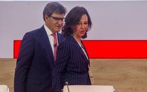 El Santander celebra Junta el 23 para recomprar el 25% de su filial mexicana
