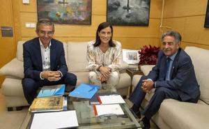 Revilla e Igual mantienen un primer encuentro de legislatura «cordial»