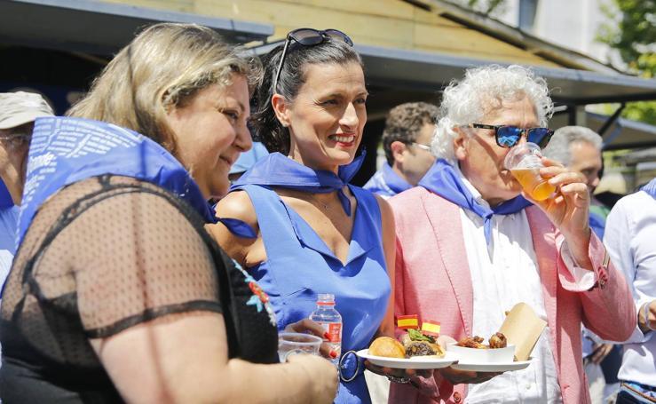 Santander inaugura sus casetas de la Semana Grande