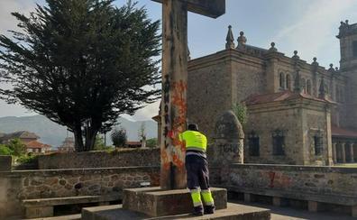 Las dudas sobre la propiedad de la Cruz de los Caídos de Los Corrales desatan el debate