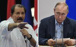 Putin le dice a Ortega que puede contar siempre con la ayuda de Rusia