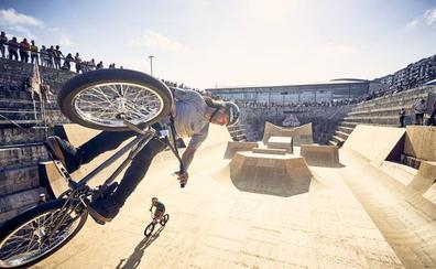 Las bicis ya vuelan sobre el Dique de Gamazo