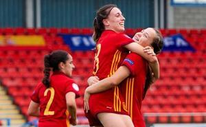 Un gol de Olga Carmona mete a España en semifinales
