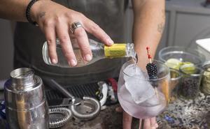 Ginebras de colores y gin tonics con acento nipón