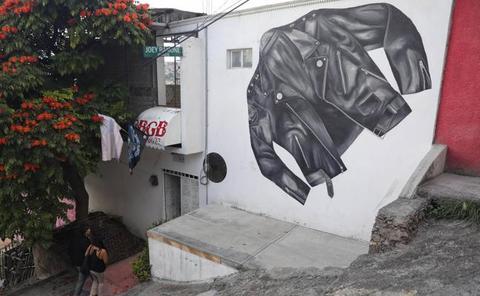 El museo de los Ramones en uno de los barrios más peligrosos de México
