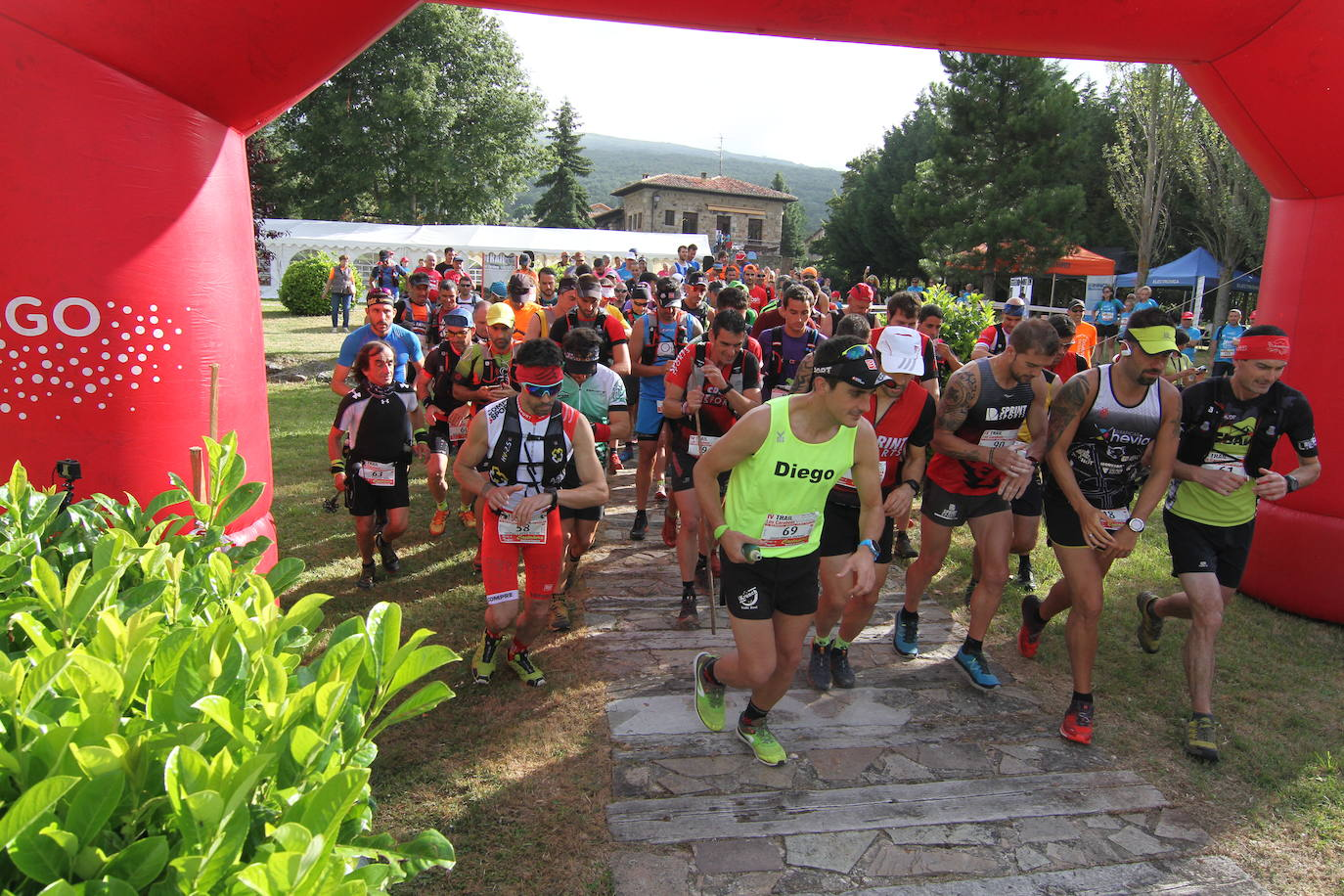 La quinta edición del Trail de Los Carabeos se disputará el domingo 28 de julio