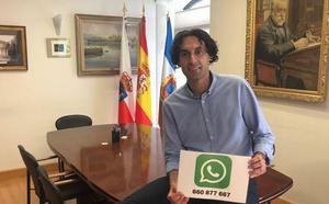Línea directa por Whatsapp con el alcalde de El Astillero