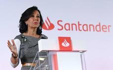 El Banco Santander gana un 14% menos por los 600 millones del ERE