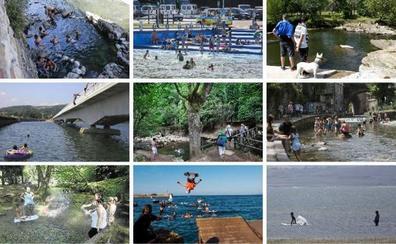 Diez pozas y piscinas naturales para combatir la ola de calor en Cantabria
