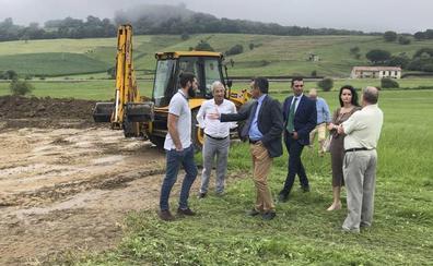El polígono de Val San Vicente estará listo para las primeras empresas en un año