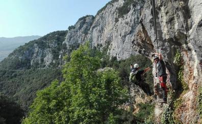 Ramales suma una nueva vía ferrata a su oferta de turismo de aventura