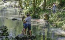 La fama del Ebro y el agua del Híjar