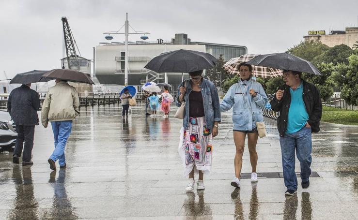 El mal tiempo llega a Cantabria