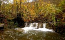 Unas cascadas camino de La Nogalera