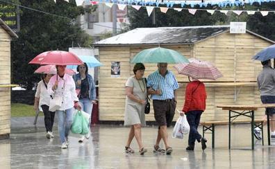 La lluvia se vuelve protagonista y las temperaturas caen hasta 13 grados en el sur