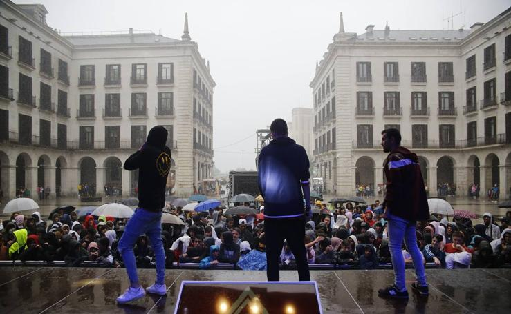 Festival North Music de hip hop en Santander