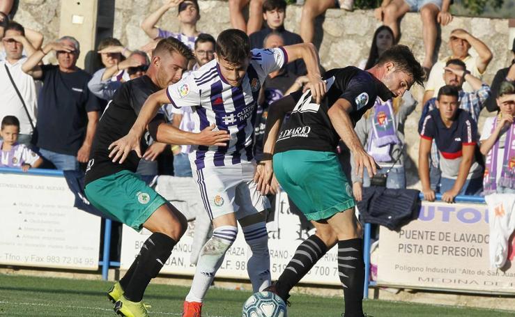 El Racing pierde 1 - 0 frente al Valladolid