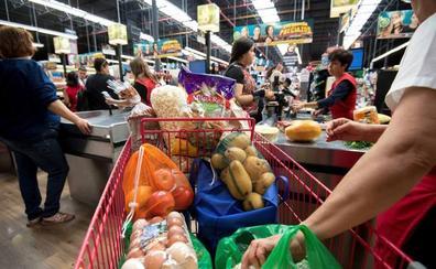 Los precios suben ligeramente al 0,5% por los alimentos