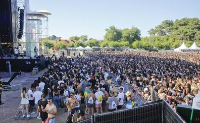 Avalancha de reggaeton en la Campa