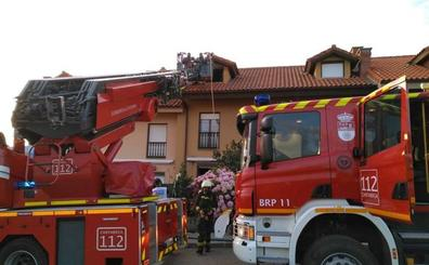 Incendio sin consecuencias graves en un chalet de Comillas