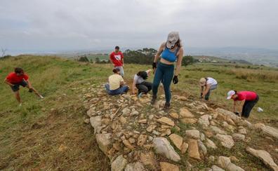 Voluntarios de distintos países vuelven a trabajar en El Cincho