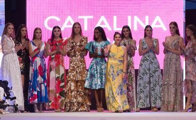 La firma cántabra 'Catalina García' pisa con estilo en las pasarelas nacionales