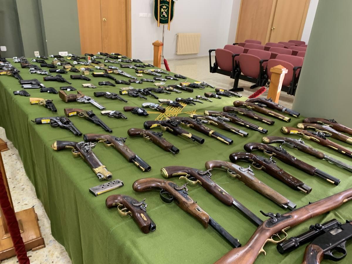 Desarticulada en Cantabria «una de las mayores redes de tráfico de armas» del país
