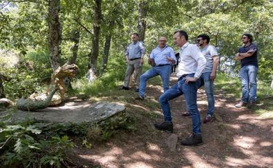 Inaugurada la ruta mitológica de Peñarrubia