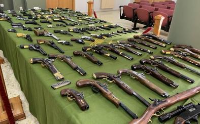 Cae en Cantabria una de las mayores redes internacionales de tráfico de armas del país