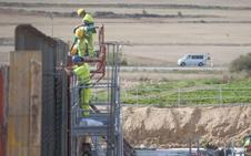 El único tramo en obras de la autovía Aguilar-Burgos acaba su plazo con tan sólo el 39% construido