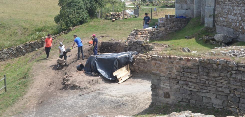 Por primera vez se documentan evidencias del periodo de los cántabros en Julióbriga