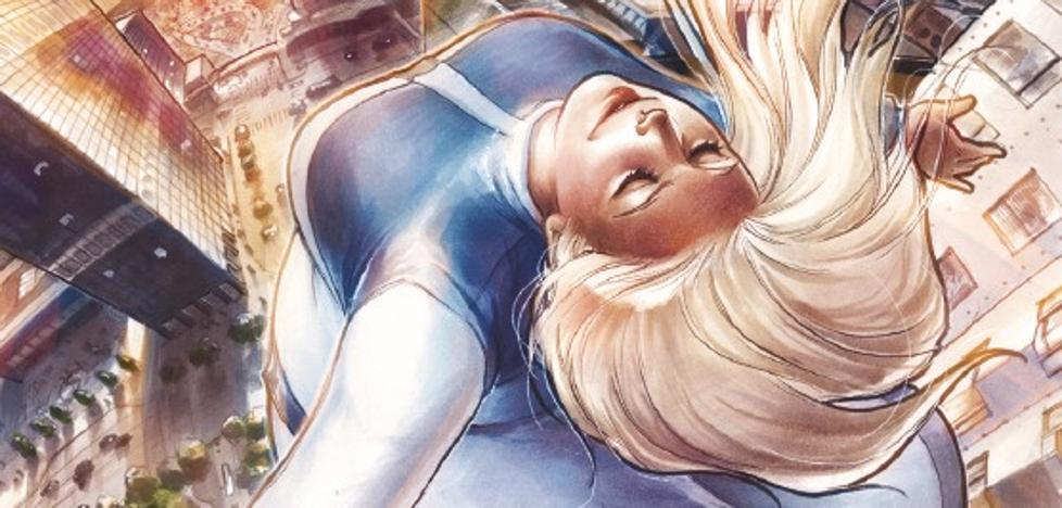 Una superheroína XXL