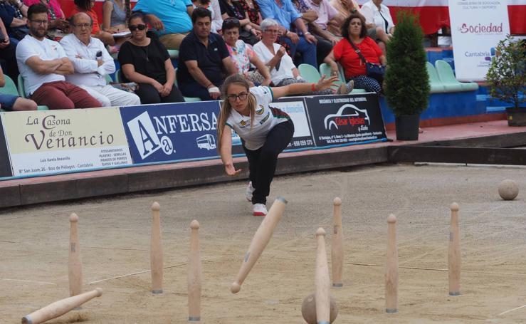 Iris Cagigas, cuatro veces campeona