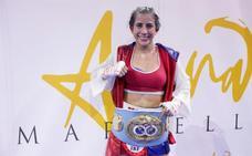Yokasta Valle le arrebata a Pastrana la corona mundial de peso mínimo