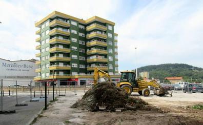 Torrelavega inicia la construcción de la Plaza de las Nuevas Tecnologías