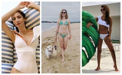 Estos son los bañadores y biquinis favoritos de las famosas