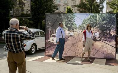 Santander celebra hoy el aniversario de la mítica foto de los Beatles en Abbey Road