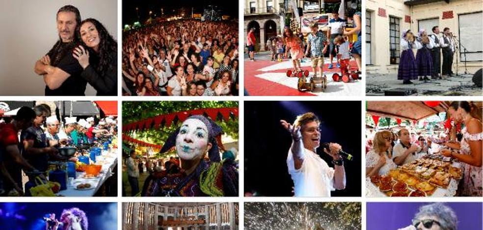 La agenda de las fiestas de Torrelavega