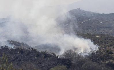 Activos dos incendios en la zona sur de Cantabria