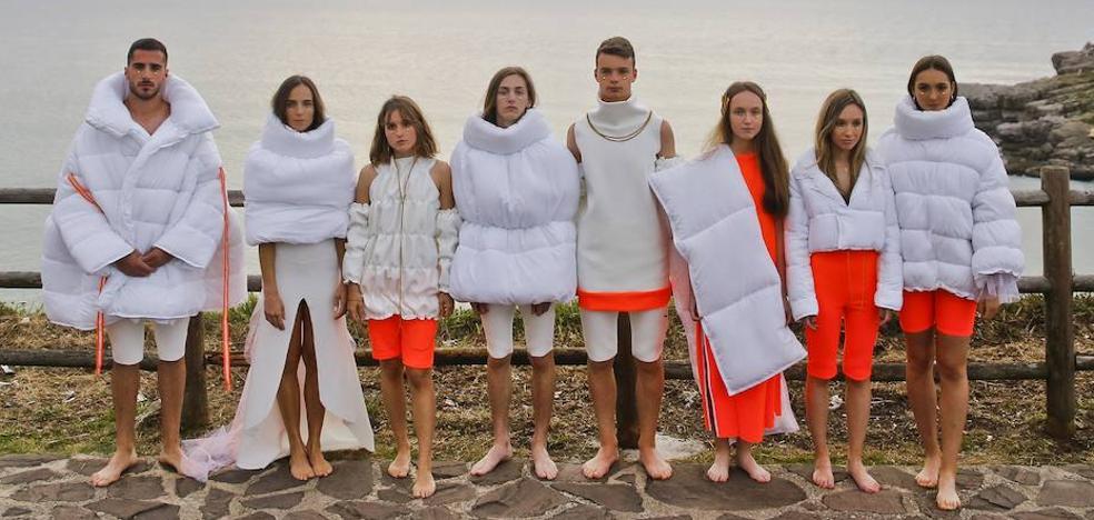 La moda sin límites de la joven diseñadora santanderina Sara Alcalde