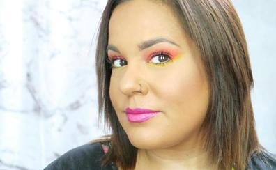 Un maquillaje a todo color para vivir un festival de música