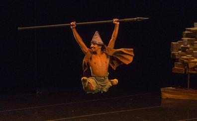 El Quijote bailó en el Palacio