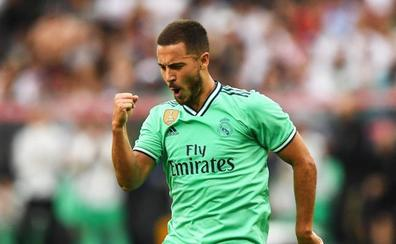 Hazard portará el '7' en el Real Madrid