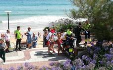 Fallece un bañista de 70 años en la Segunda de El Sardinero