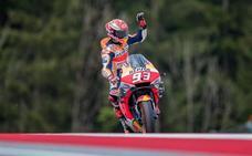 Márquez sigue golpeando en Austria