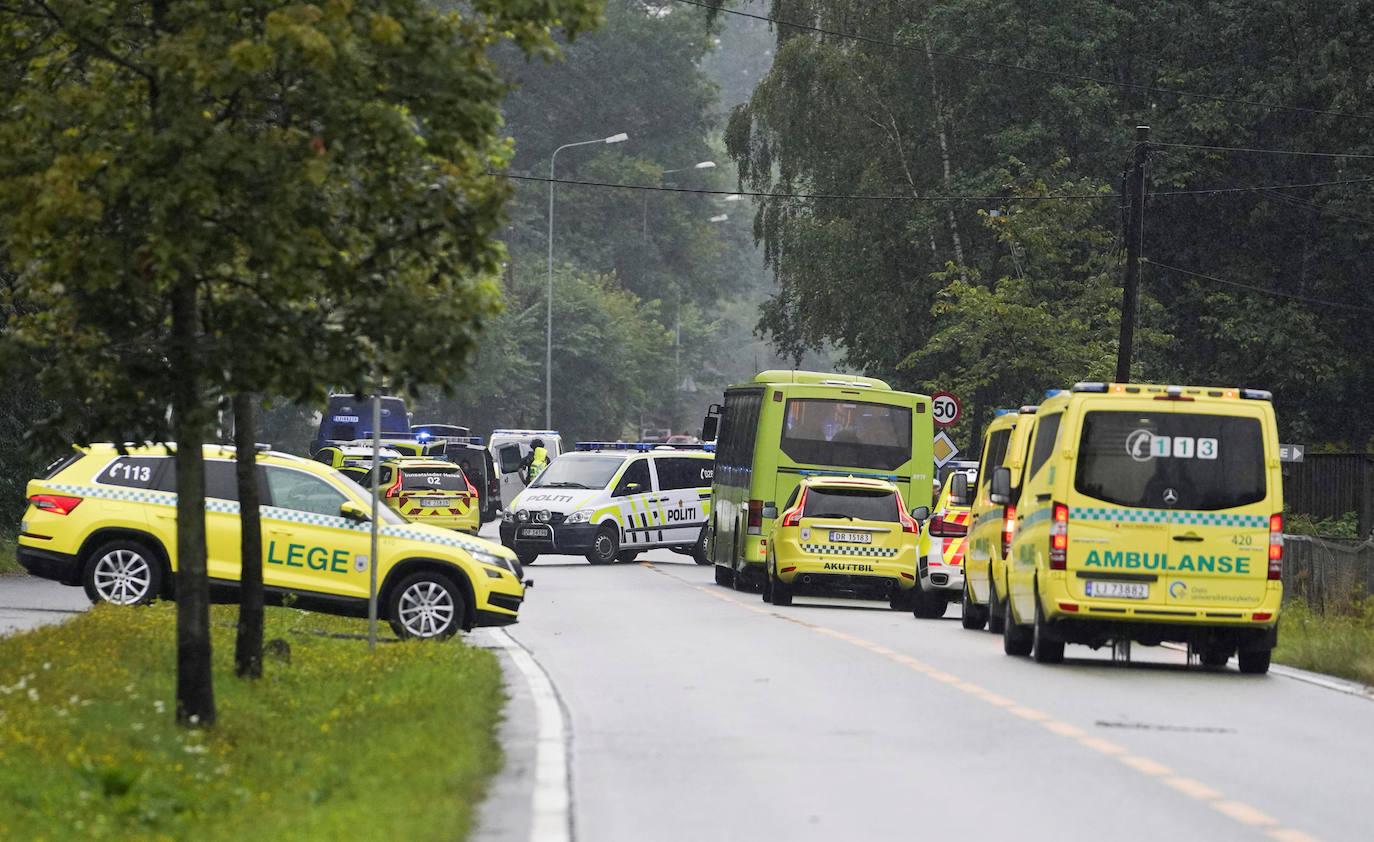 Un detenido por el tiroteo en una mezquita noruega que causó un herido