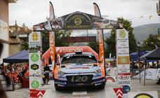 Imágenes de la primera jornada del Rally Cristian López
