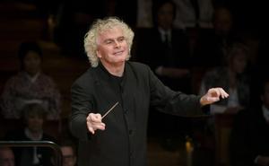 Simon Rattle y la London Symphony ofrecen en el FIS sus dos únicos conciertos en España